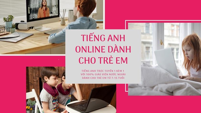 Tiếng Anh Dành Cho Trẻ Em Online