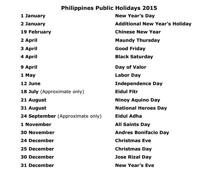 PH Philippines 2015
