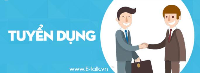 E-Talk Tuyển Dụng Cộng Tác Viên Kinh Doanh và Marketing
