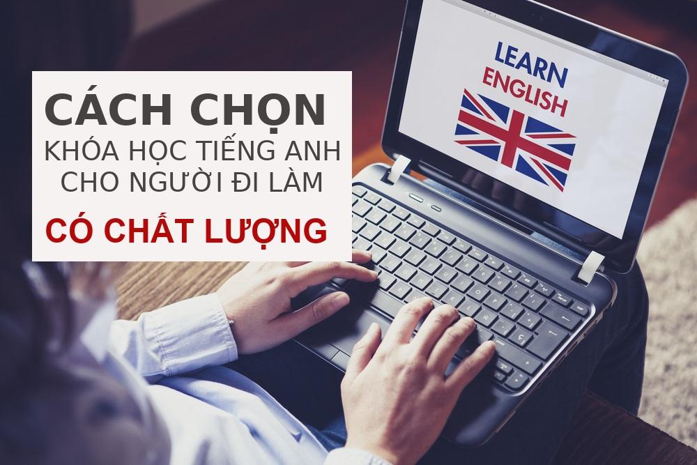 học tiếng Anh cho người đi làm