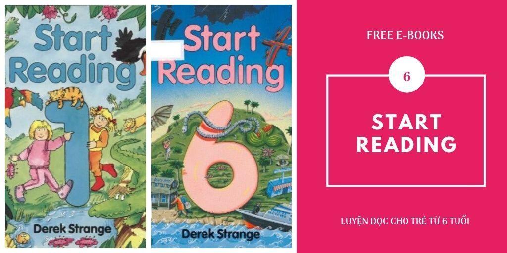 Start Reading - Sách luyện đọc tiếng Anh cho bé