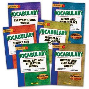 trọn bộ 6 tập sách học từ vựng tiếng anh theo chủ điểm